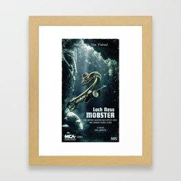 Loch Ness Mobster Framed Art Print