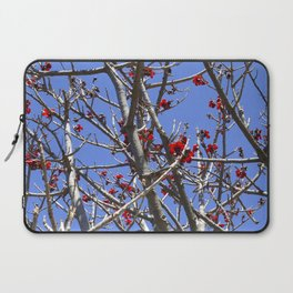 Blossoms On A Barren Tree Laptop Sleeve