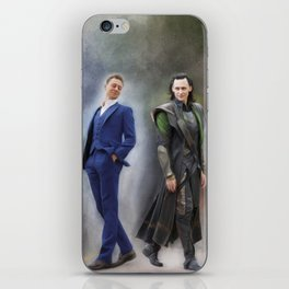 Two Sides of the Same Coin iPhone Skin