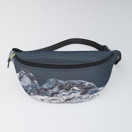BLUE MARBLED MOUNTAINS Fanny Pack