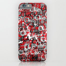 Ohio Scarlett & Gray Day iPhone Case