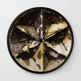 Weathering Star Wall Clock