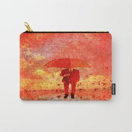 The man in the umbrella Carry-All Pouch