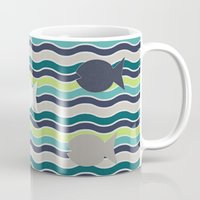 under the sea Mugs featuring Under The Sea by LLL Creations