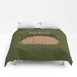 Big Heart Bed Attitude Comforters