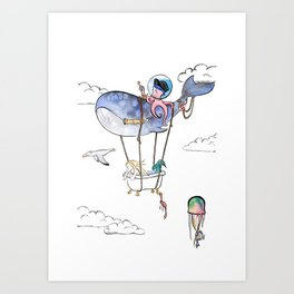 On Adventure! Art Print
