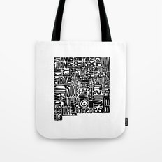 Typographic New Mexico Tote Bag