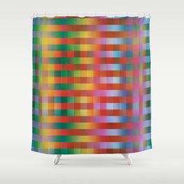 Fall/Winter 2016 Pantone Color Pattern Shower Curtain