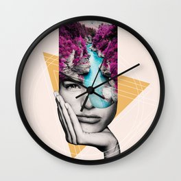 Open Minded 05 Wall Clock