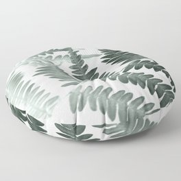 Fern Textures Floor Pillow