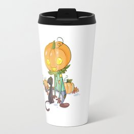 Little jack-o'-lantern Travel Mug