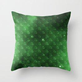 Capricorn Nebula Pattern Throw Pillow