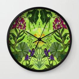 Summer Medicine Wall Clock