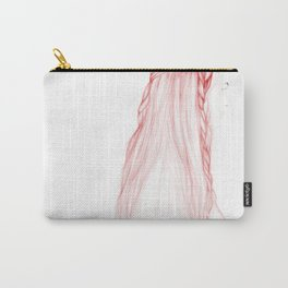 Red Hairstyle 1 Carry-All Pouch