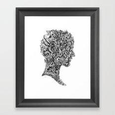 Portrait of spring Framed Art Print
