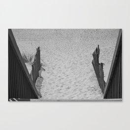 Down To The Beach Canvas Print