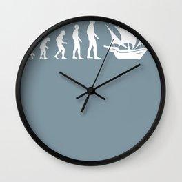 Sailing Evolution Wall Clock