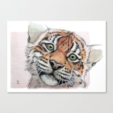 Tiger Cub 887 Canvas Print
