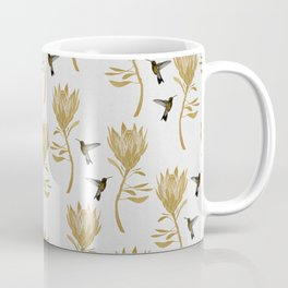 Hummingbird & Flower I Coffee Mug
