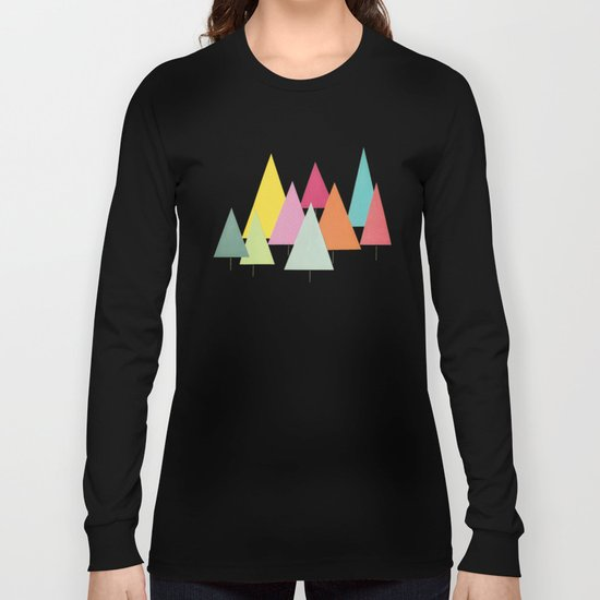 Fir Trees Long Sleeve T-shirt