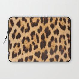primitive trendy stylish fashionable safari animal leopard Laptop Sleeve