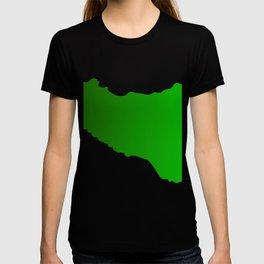 sicilian map T-shirt