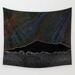 Neon Mountain Starlight Wall Tapestry