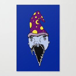 WhizardBlu Canvas Print