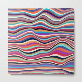 African Waves No2 Metal Print