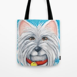 Herman West Highland White Terrier Dog original art Westie  Tote Bag