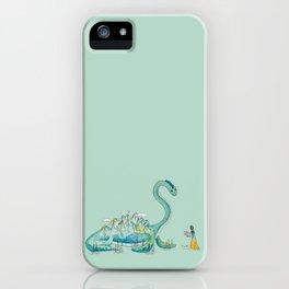 Loch Ness Monster Friend iPhone Case