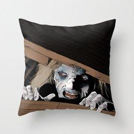 Someone's In My Fruit Cellar Throw Pillow