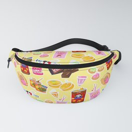 Asian Sweets Pattern Fanny Pack