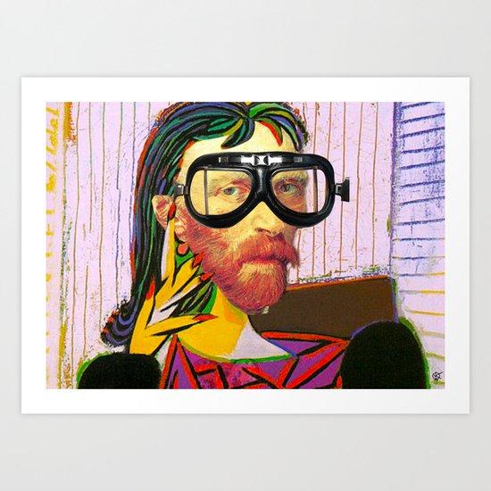 Vin Dora GoMaar Art Print