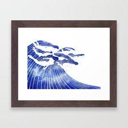 Seven Nereids Framed Art Print