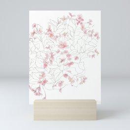 Flors Mini Art Print