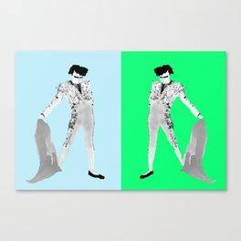 Double Pompadour Canvas Print