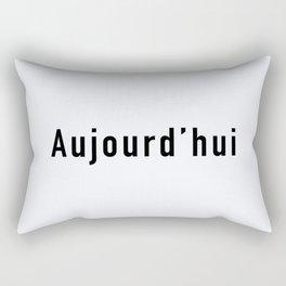 103. Today Rectangular Pillow