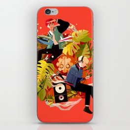 Fly away to SOPE world iPhone Skin