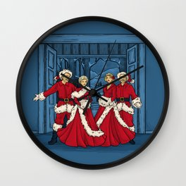 May Your Days be Merry and Bright Wall Clock
