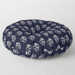 Doom Mask Melting Floor Pillow