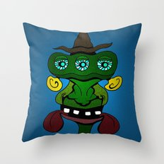(Just another) Unsophisticated Hillbilly from Outer Space Throw Pillow