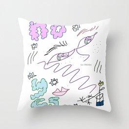 La Tienda Throw Pillow