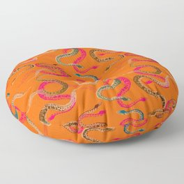 S is for snake Floor Pillow
