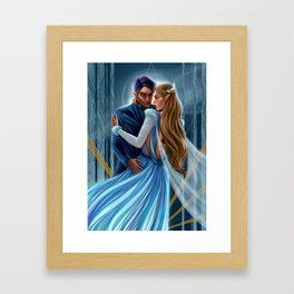 Starlight Feyre and Rhys Framed Art Print