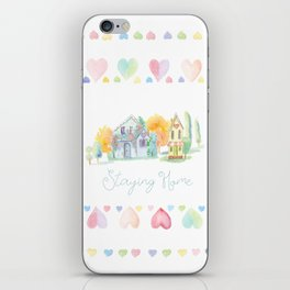 Little Houses: Staying Home iPhone Skin