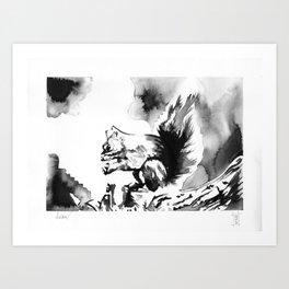 Esquilo Art Print