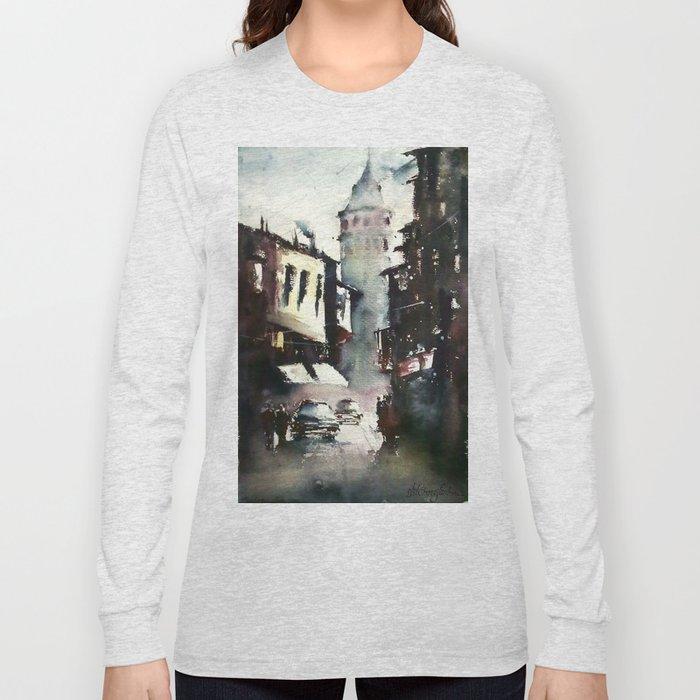 Galata Tower Long Sleeve T-shirt
