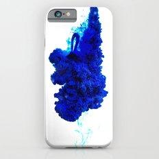 INDIAN INK IN WATER / COBALT Slim Case iPhone 6s