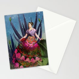 Blue Agave and Cacao Stationery Cards